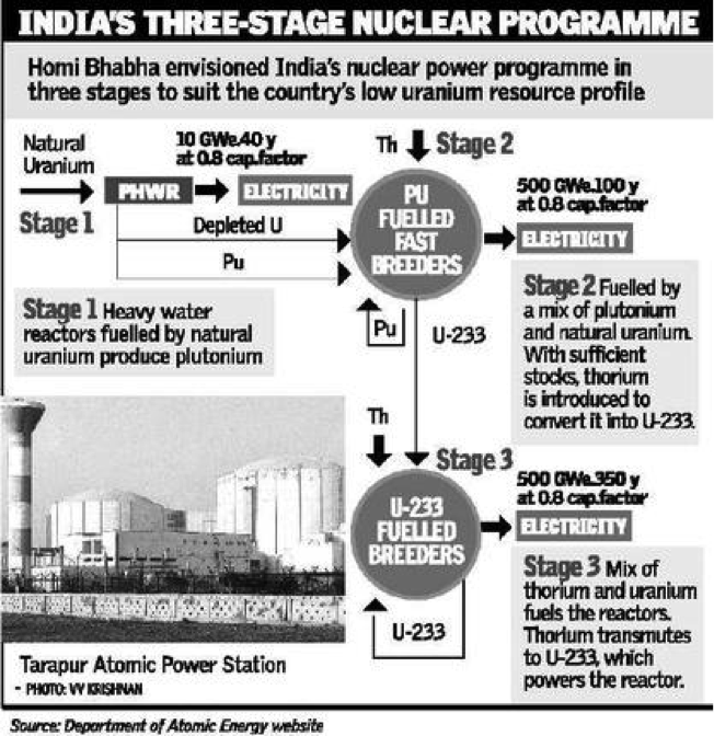 Nuclear reactor in india essay