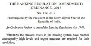banking regulation 2017
