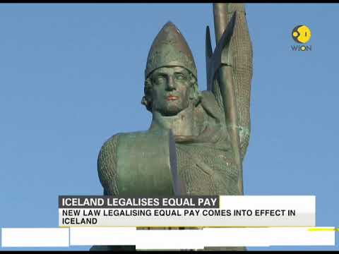 iceland legalises equal pay